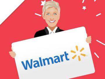 Ellen Walmart Giveaway