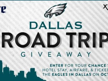 Dallas Road Trip Giveaway Sweepstakes