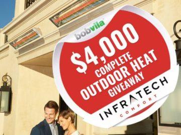 Bob Vila's $4,000 Complete Outdoor Heat Giveaway