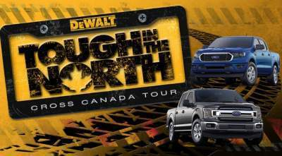 DeWalt Tough In The North Tour Contest