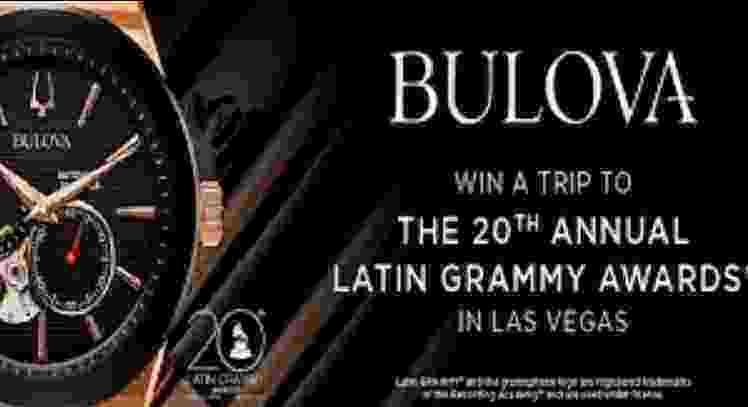 Zales Bulova Latin Grammy Awards Sweepstakes