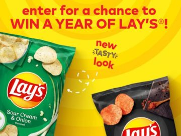 Gotta Have Lays – Win Potato Chips for a Year