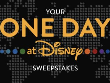 Your One Day at Disney Sweepstakes