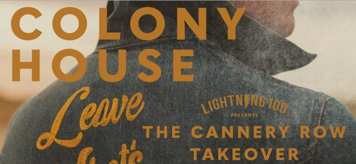Colony House Cannery Sweepstakes