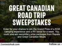 KOA The Great Canadian Road Trip Sweepstakes
