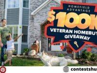 Home Field Advantage $100K Veteran Homebuyer Giveaway