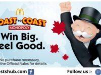 McDonalds Monopoly Canada 2020 Rare Pieces