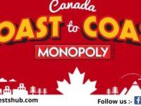 McDonalds Monopoly Coast To Coast Game Sweepstakes