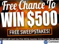 Crown Awards $500 Debit Gift Card Giveaway