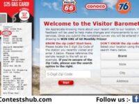 Phillips66 Gas Visit Customer Satisfaction Survey Sweepstakes