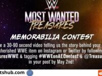 A&E WWE Memorabilia Contest