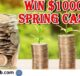 Real Simple $1000 Spring Cash Sweepstakes