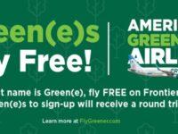 Frontier Airlines Free Flight Ticket Giveaway
