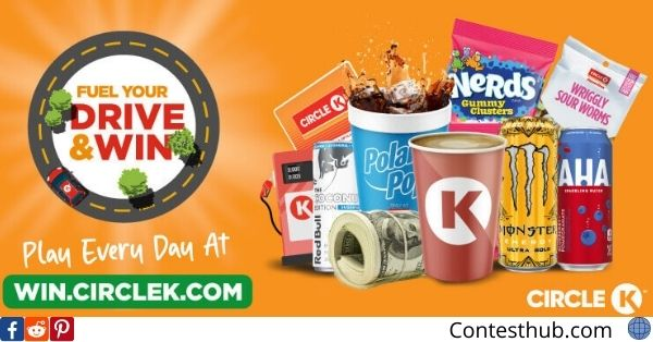 Circle K Scan To Win Fuel Sweepstakes