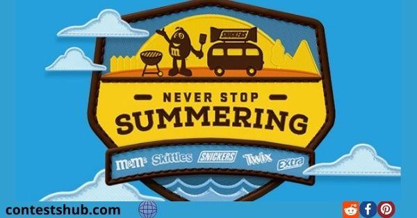 Never Stop Summering Instant Win Game