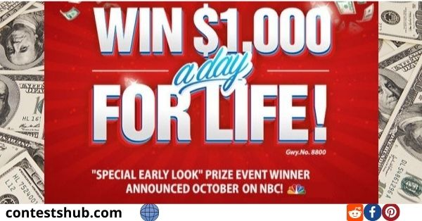 PCH $1,000 a Day for Life Sweepstakes
