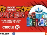 Circle K Rock Paper Prizes IWG and Sweepstakes