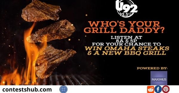 Omaha Steaks Grill Giveaway