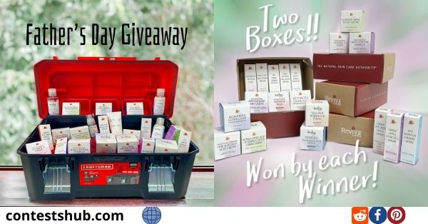 Reviva Labs Father Day Giveaway