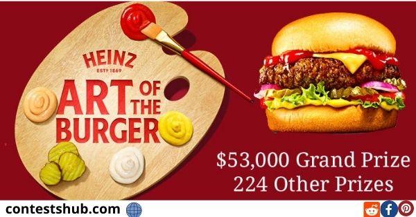 Heinz Art of the Burger Contest