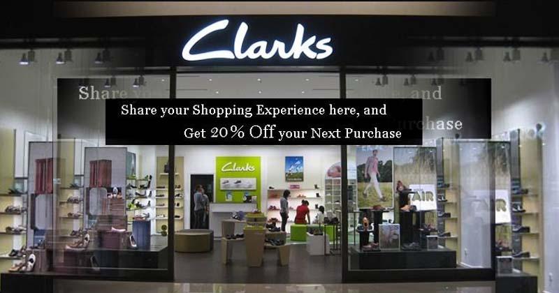 Clarks Companies Customer Feedback Survey