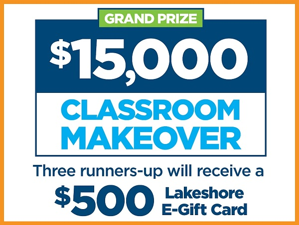 Lakeshore Learning Classroom Makeover Contest
