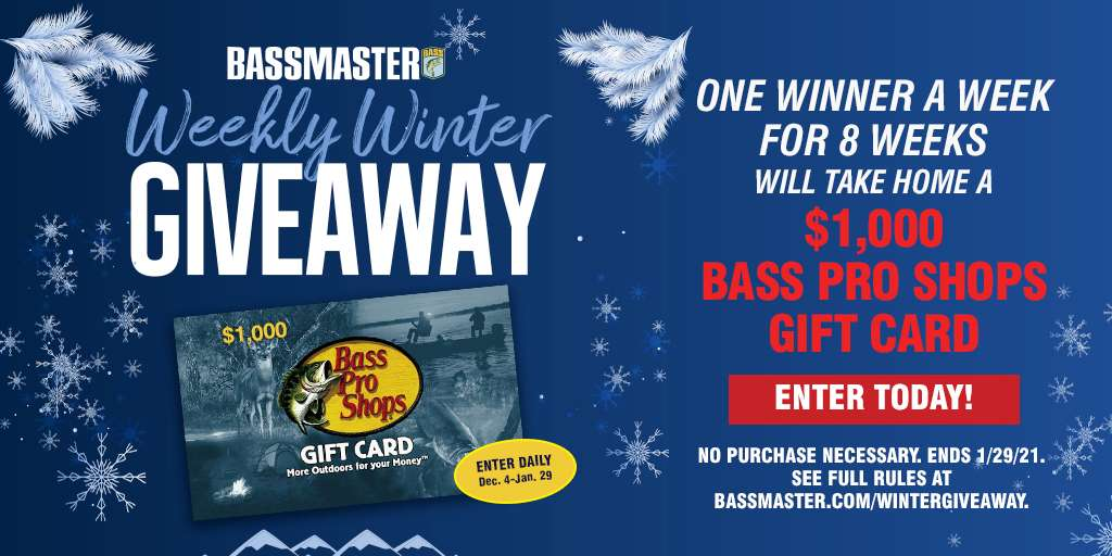 Bass master Countdown To Classic Giveaway